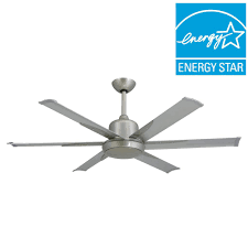 nickel ceiling fans ceiling fans u0026 accessories home depot