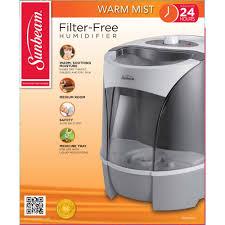 Best Small Bedroom Humidifiers Sunbeam Warm Mist Humidifier White Swm6000 Um Walmart Com