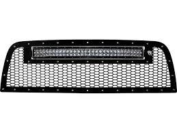 Rigid 50 Led Light Bar by Rigid 2013 15 Dodge Ram 2500 3500 Grille With 30