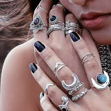Shopping Resources For Bohemian Charm by Boho Jewelry Rings Bracelet Necklace Earrings Flash