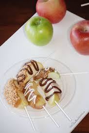 tasty caramel apple pops recipes on pinterest mini caramel