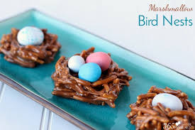 easter marshmallow candy marshmallow bird nests tgif this is