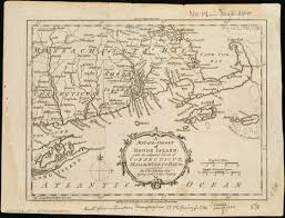 Map Of Ri File A Map Of The Colony Of Rhode Island With The Adjacent Parts