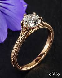 filigree engagement ring gold filigree engagement rings 9727