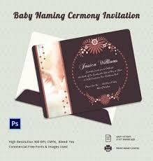 Naming Ceremony Invitation Card 28 Naming Ceremony Invitation Templates Free Naming Ceremony
