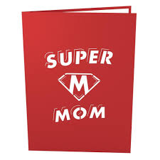 super mom pop up mother u0027s day card lovepop