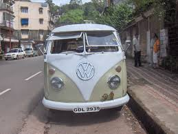 van volkswagen hippie vw van u0027s from goa team bhp