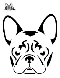 excellent pumpkin carving stencils about french bulldog pumpkin