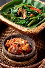 cing cuisine balinese food stock image image of dishes place rice 68576387