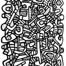 jean dubuffet coloring pages adults free print