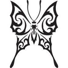 tribal butterfly designs tribal