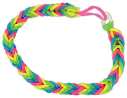 bracelet looms bands images Loom band bracelet fishtail pattern crafts direct jpg