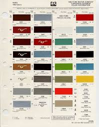 popular colors in the 1980s see more 1980 paint code information