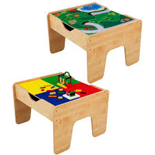 Play Table With Storage by Lego Table Kids Train Top Play Art Craft Activity Desk With