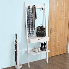 Bathroom Storage Ladder Haotiangroup Rakuten Haotian Ladder Shelf Coat Rack Storage