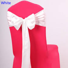 Chair Ties Discount White Bow Chair Ties 2017 White Bow Chair Ties On Sale