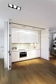 cacher une cuisine ouverte les portes pliantes design en 44 photos porte accordéon