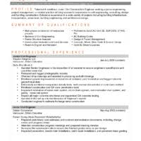 Great Engineering Resume Examples by Effective Resume Sample For Mechanical Engineering For Job