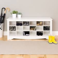 Bench With Shoe Storage Entryway Benches Settees For Less Overstock