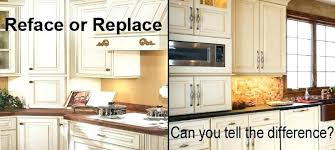kitchen cabinet refacing costs resurface kitchen cabinets cost faced