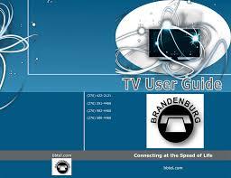 television guide brandenburg telephone company