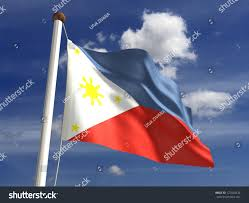 Philippines Flag Philippines Flag With Clipping Path Stock Illustration 127544234