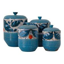 italian canisters kitchen bitossi italian kitchen canisters set of 4 chairish