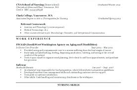 nursing assistant resume nursing assistant sle resume sle resume for certified