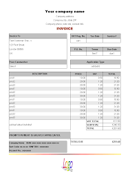 Invoice For Services Template Free Download Construction Estimate Template For Free Uniform Invoice