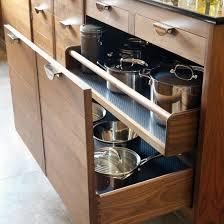 Take A Tour Around A Smart Walnut Kitchen Walnut Kitchen - Drawers for kitchen cabinets