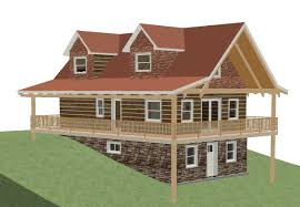 sloped lot home plans with walk out basement corglife