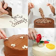 6 easy and modern cake decorating ideas pastry bags and tips