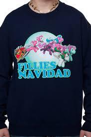 space jam sweater my pony faux sweater fillies navidad