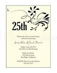 25th wedding anniversary invitations 25th wedding anniversary invitations 25th wedding anniversary
