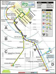 denver light rail hours co rtd light rail system