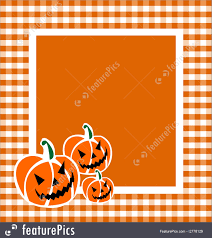 halloween pumpkins cartoons illustration of halloween pumpkin frame