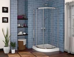 Shower Door 36 Fleurco Alina Semi Frameless Corner Shower Door 36 X36 X70