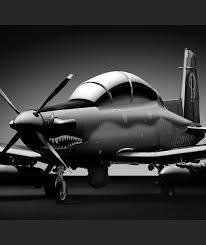 at 6 light attack aircraft modern turboprop turns into surveillance aircraft mikeshouts