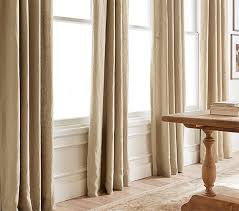 How To Hang Curtains In An Apartment How To Hang A Drape Pottery Barn
