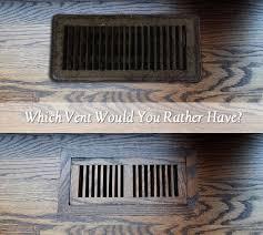 beautiful hardwood floor heating vents