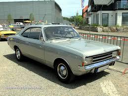 1970 opel commodore opel rekord type c 1900 l fasback regiomotoclassica 2011 01