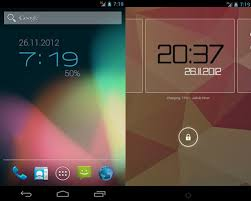 best clock widget for android 20 minimalistic clocks and calendar widgets for android hongkiat