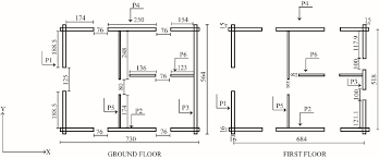 floor plans with dimensions plans of the log house all dimensions in cm