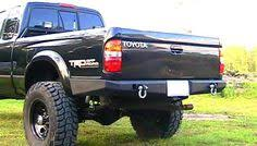 2002 toyota tacoma rear bumper replacement elite road rear bumper rear bumper 2004