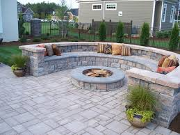 Slope For Paver Patio by Seating Wall Lighting Jacksonville Middleburg Saint Augustine
