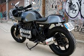 bmw motorcycle cafe racer nitro cycles bmw k100 cafe racer freshness mag