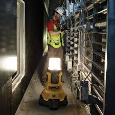 dewalt 20v area light tool dewalt dcl070 20v max led large area light w built in