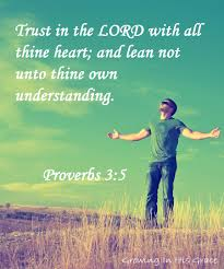trusting god with our future growing in his grace