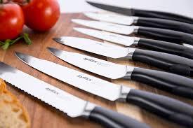 amazon com zyliss control kitchen knife set with block