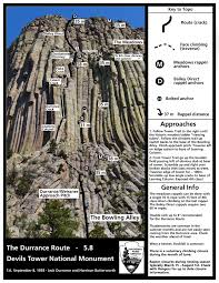 climbing information devils tower national monument u s